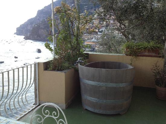Hotel Maricanto: Room terrace and view