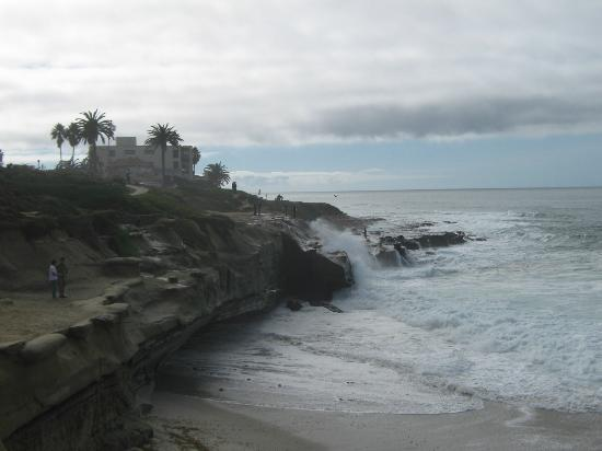 Sunset Cliffs Natural Park: Onde