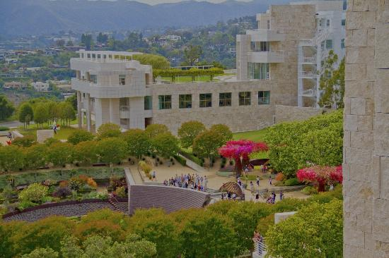 The Getty Center: Hanging out at the Getty