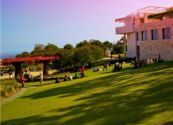 The Getty Center: Sunshine and art