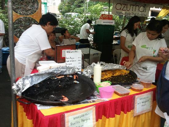 Salcedo Saturday Market: Black Paella