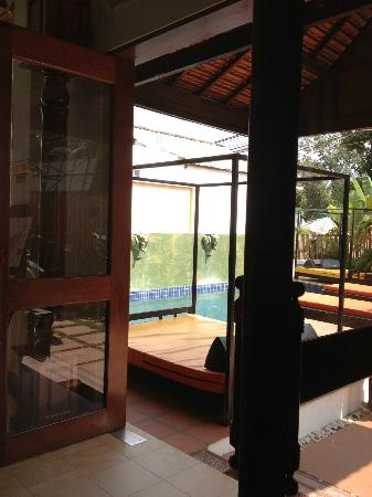 The Mekong Bed & Breakfast: the pool