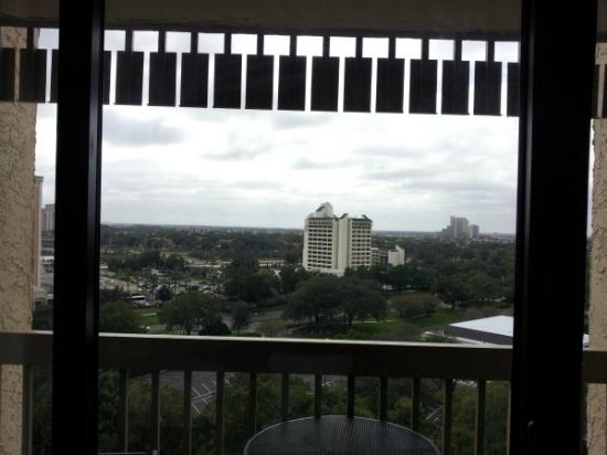 Best Western Lake Buena Vista - Disney Springs Resort Area: view from our room.