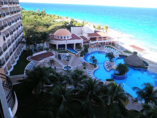 View from our room Picture of El Cozumeleno Beach Resort Cozumel