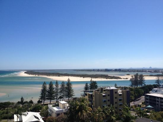 Aspect Caloundra: view from the Aspect