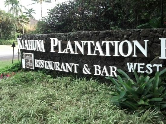 Kiahuna Plantation Resort: Sign