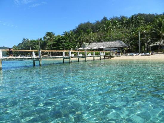 Malolo Island Resort: Malolo Jetty