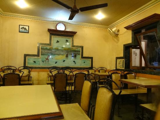 The Interiors Of Sanman Restaurant Non Ac But Who Cares