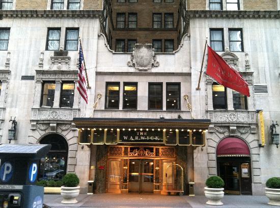 Warwick New York Hotel: Check-in