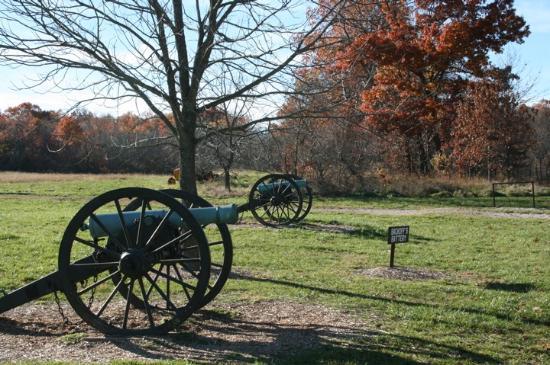 Wilson's Creek National Battlefield: Sharp Farm site - Siegel's last position