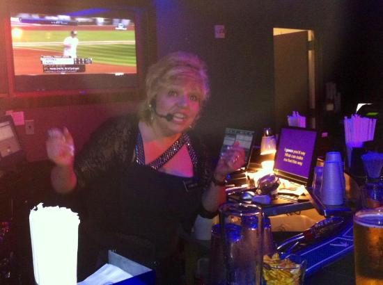 Resorts Casino Hotel: Blanche Morro; the very talented Singing Bartender at Resorts! 