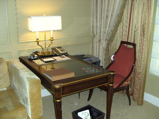 The Venetian Las Vegas: desk