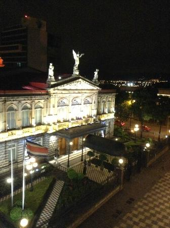 Gran Hotel Costa Rica: Theatre from the room