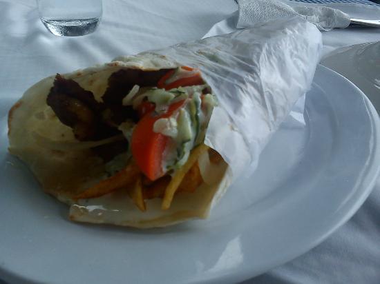 Mano's Greek Tavern: Lamb shawarma