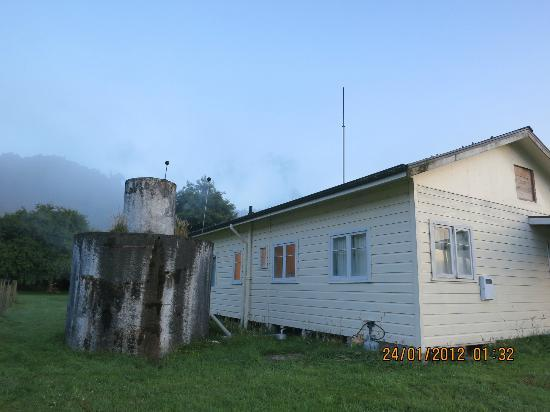 Back of our lodge