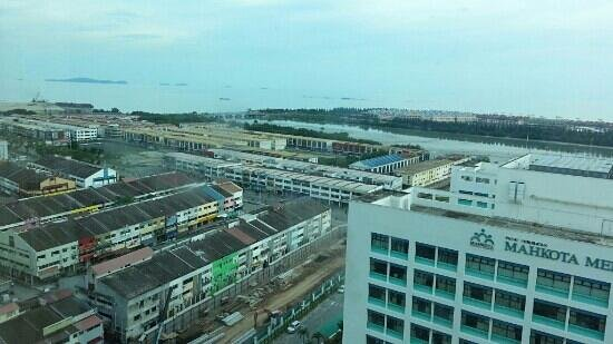 แฮทตัน โฮเต็ล มะละกา: View from RM100 1534