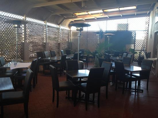 Origin Indian Tandoori Restaurant: outside dinning area