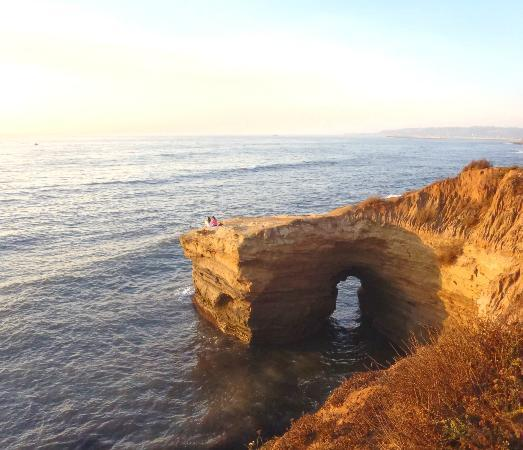 Sunset Cliffs Natural Park : Yea I didn't want to walk that far out ^^;;;