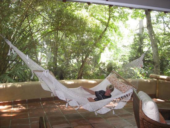 Florblanca Resort: outdoor hammock