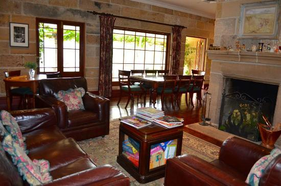 Capers Guest House: Inside the guesthouse