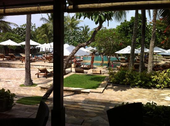 ذا رويال بيتش سمينياك بالي - مجالري كولكشن: La piscine vue du restaurant