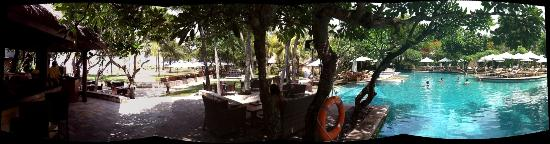 The Royal Beach Seminyak Bali - MGallery Collection: Panoramique plage-piscine