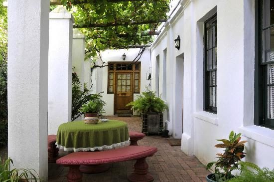 22 Van Wijk Street Guest Rooms: 22 Van Wijk Street Stoep - access to rooms