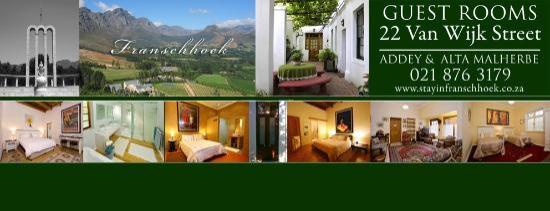 22 Van Wijk Street Guest Rooms