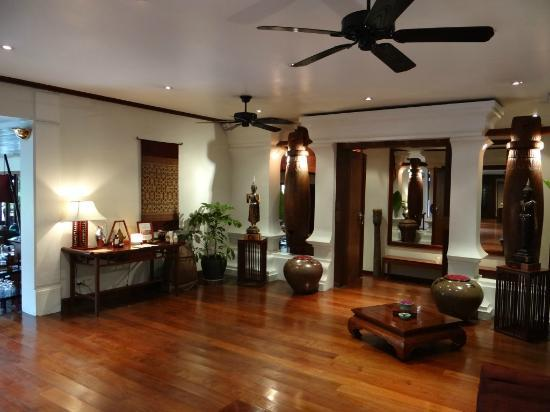 Belmond La Residence Phou Vao: Salon D'accueil