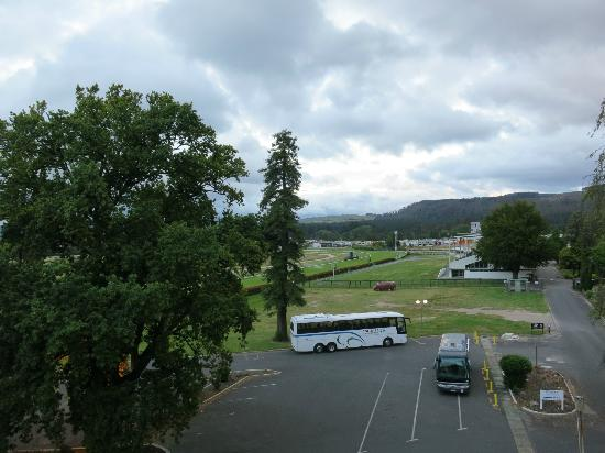 Rydges Rotorua: View from the balcony