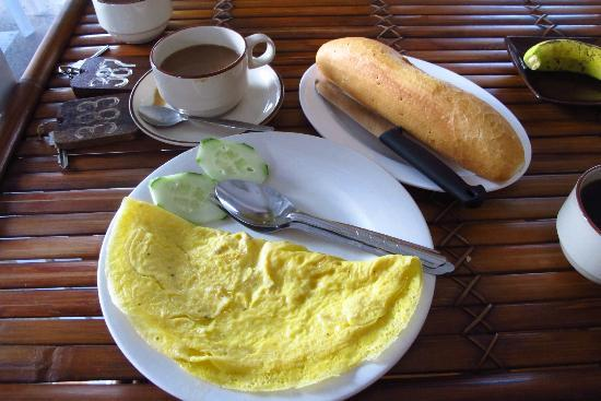 Mixok Guesthouse : Included breakfast