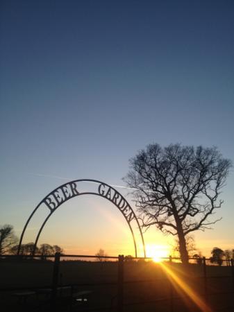 The Gunton Arms: Gunton Arms sunset