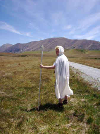 Lord of the Rings Twizel Tour: As Gandalf