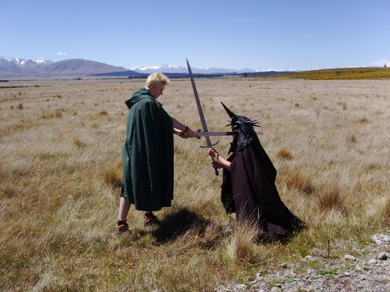 ‪‪Lord of the Rings Twizel Tour‬: Killing the Witch-King