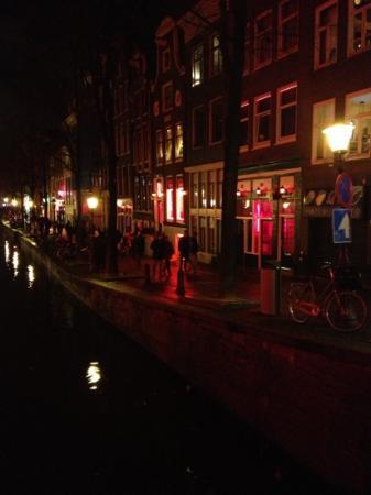 Hotel Sint Nicolaas: le quartier rouge