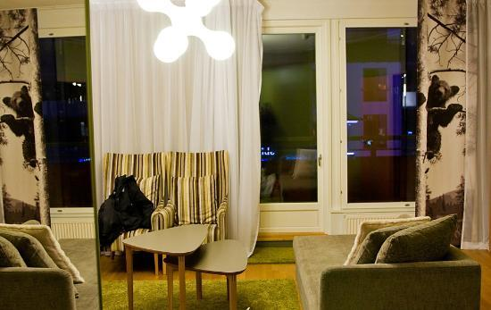 Break Sokos Hotel Levi: Livingroom