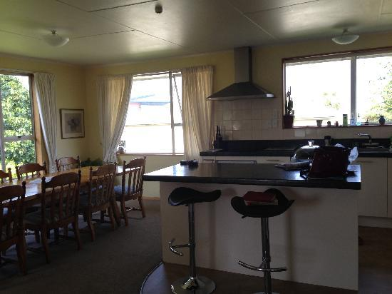 Brook House B&B : The kitchen. So clean and fully equipped!