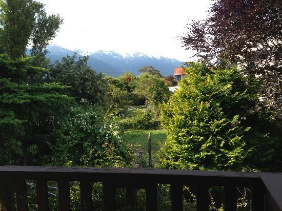 Brook House B&B : Balcony view of the alps