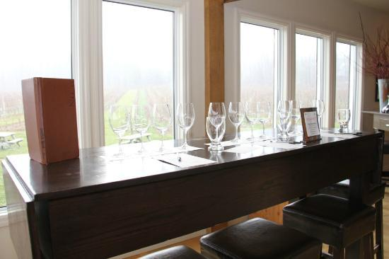 Thirty Bench Wine Makers: Wine Tasting Area