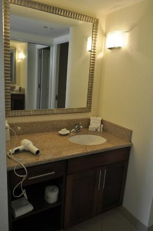 Residence Inn by Marriott Austin Downtown/Convention Center: Vanity in Bathroom