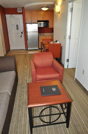 Residence Inn Austin Downtown/Convention Center: Living Area