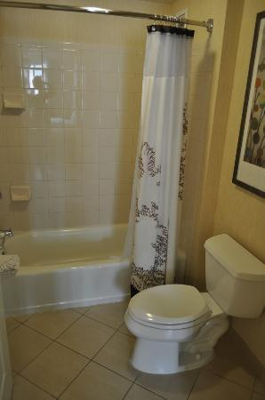 Residence Inn Austin Downtown/Convention Center: Bathtub/Toilet