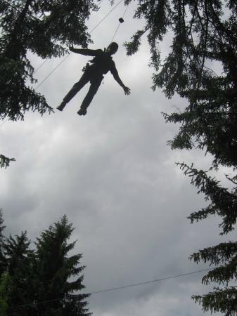 Charmey Aventures : le saut Powerfan