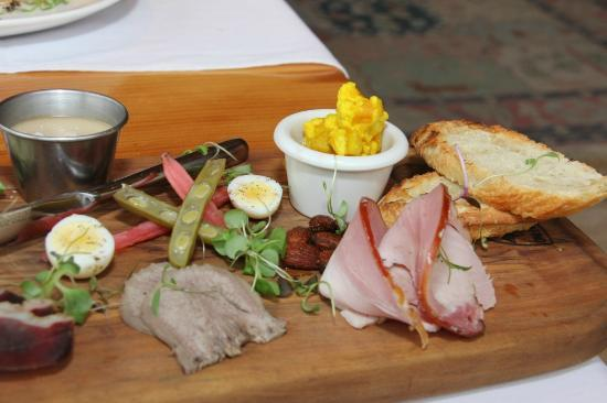 Ravine Vineyard Estate Winery: Charcuterie Plate $23