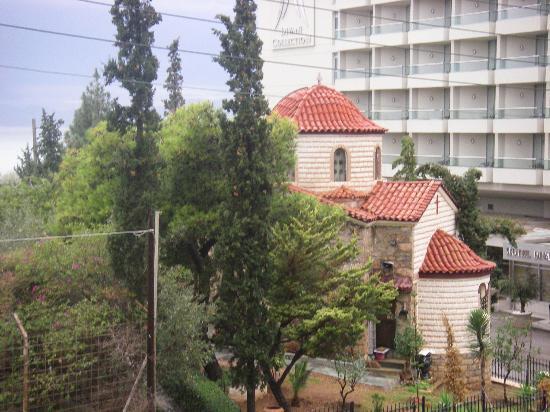 Amarilia Hotel: Panorama dalla finestra della camera