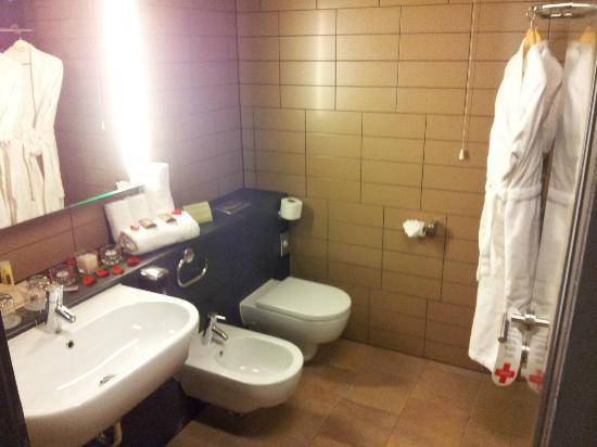 Hotel Sotelia: Bathroom