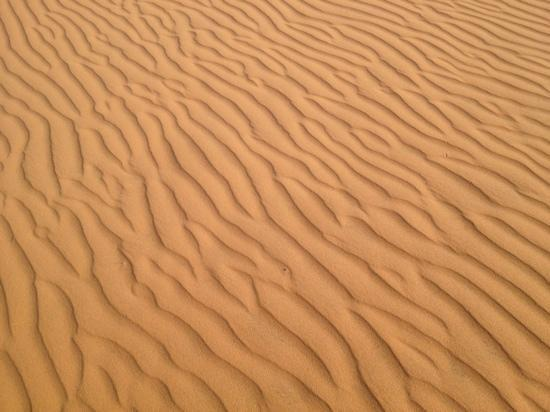 Red Dunes: Red sand dunes