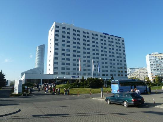 View of Hotel Orbis Wroclaw