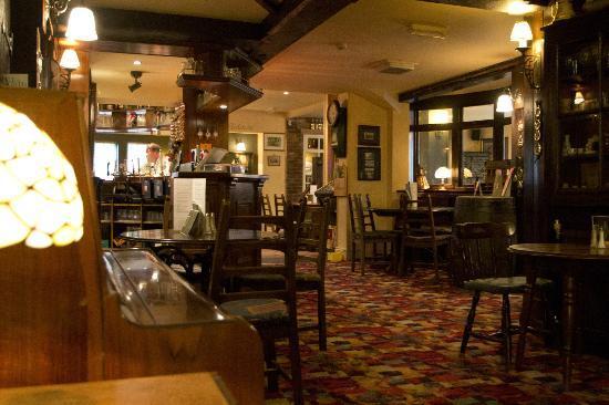 The Bugle Coaching Inn: The Snug Bar Area