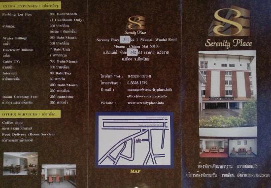 Serenity Chiang Mai: brochure 1